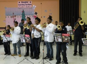 Songhai Elementary's band program